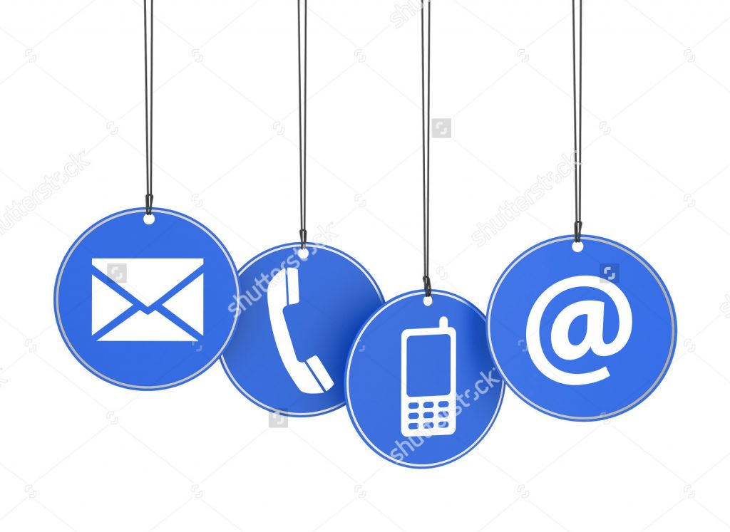 stock-photo-website-and-internet-contact-us-page-concept-with-icons-on-four-blue-hanged-tags-on-white-158327579